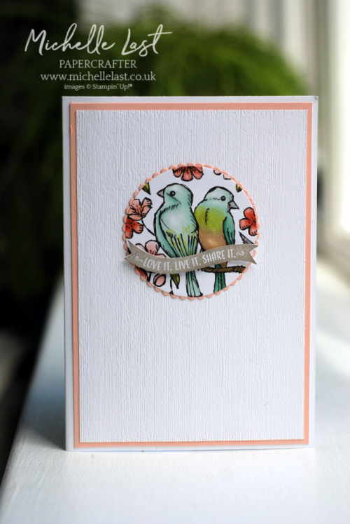 Free as a Bird welcome card