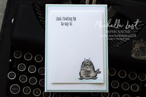 Walrus stamp from Stampin Up