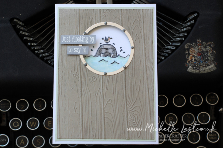 Stampin Up Walrus