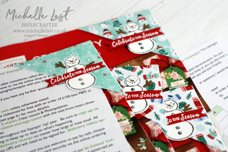 Michelle Last, Stampin Up Seasonal catalogue