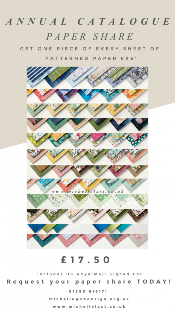 Paper Share, Stampin up patterned paper, DSP Share