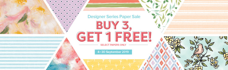 DSP Designer Series paper, Buy 3 get 1 free