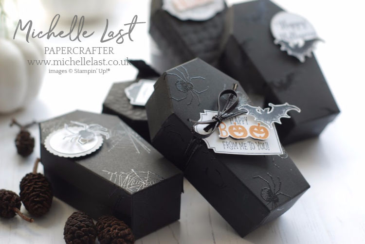 Halloween Coffin Treat Boxes Stampin Up