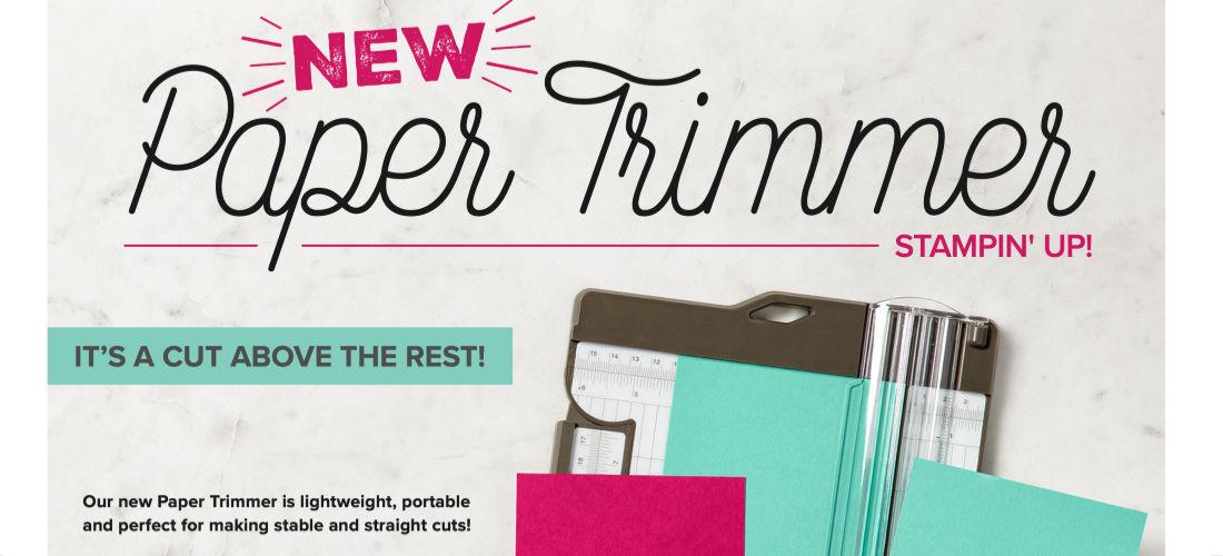 Paper trimmer Blog Banner