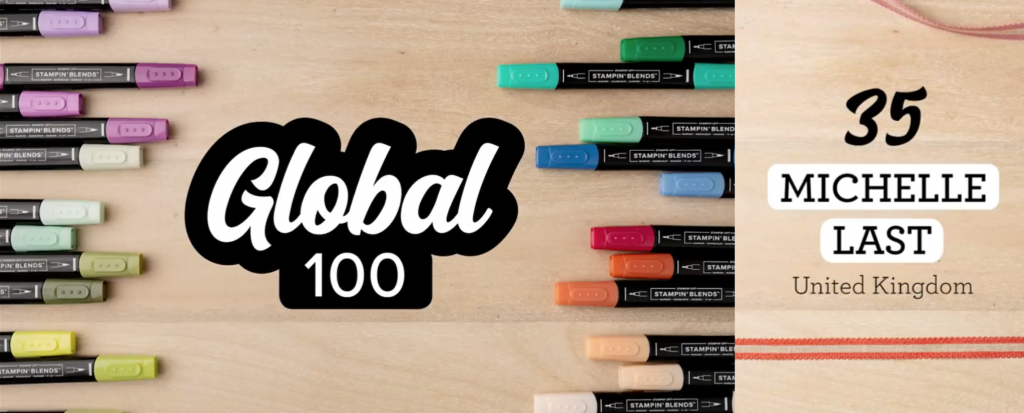 Global 100 Stampin Up Michelle Last