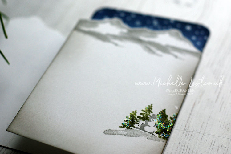 Snow Front Tri-Fold Card