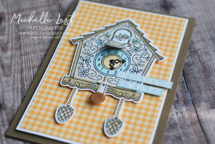 Cuckoo For You Interactive Card made with Stampin Up products by Michelle Last