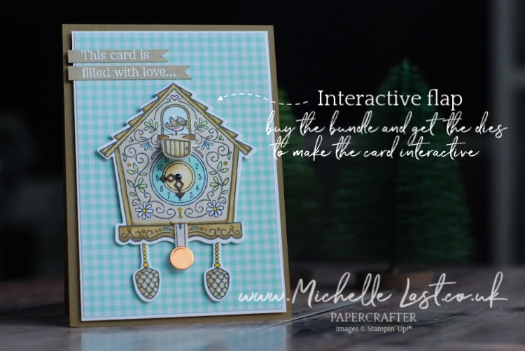 Cuckoo For You from Stampin Up