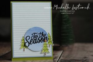 Jolly Season Dies from Stampin up made by Michelle Last