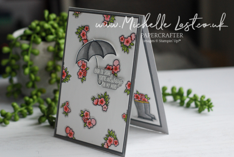 Umbrella Stamp set from Stampin Up