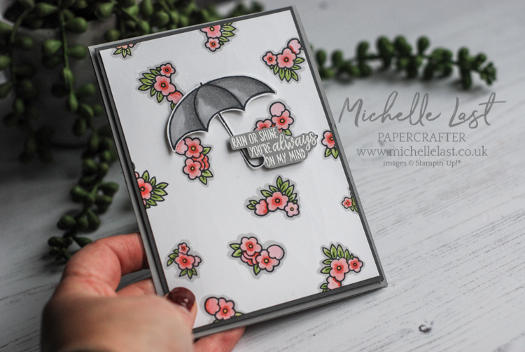 Under my Umbrella from Stampin Up