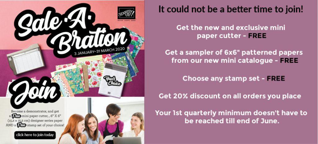 Sale-A-bration starter kit mini paper cutter