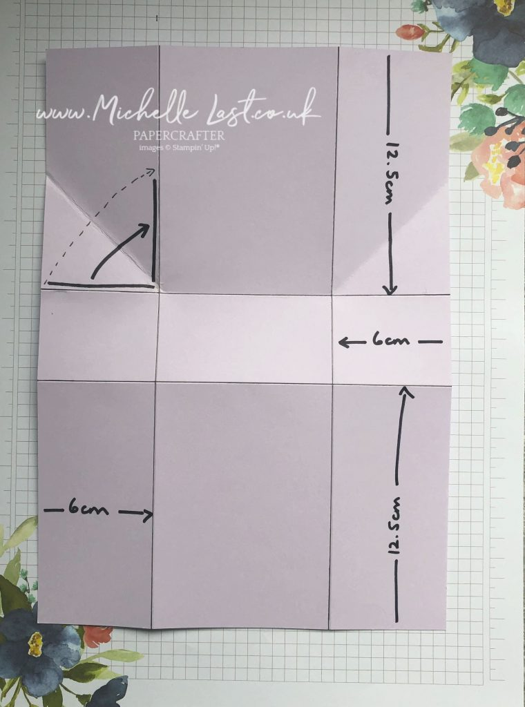 Measurements to make your own treat box