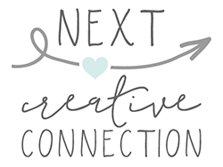 Next Button on the Creative Connection