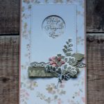 Positive Thoughts Card using Stampin Up products