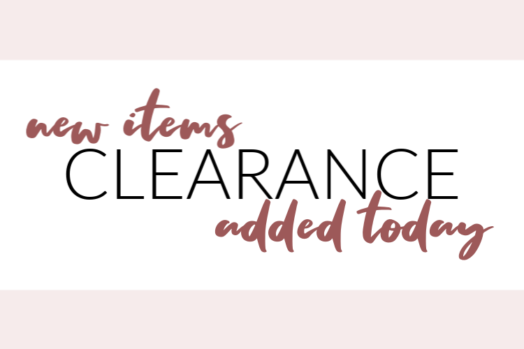 Promotion from Stampin Up with clearance items