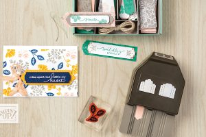 Card and punch combo for crafters