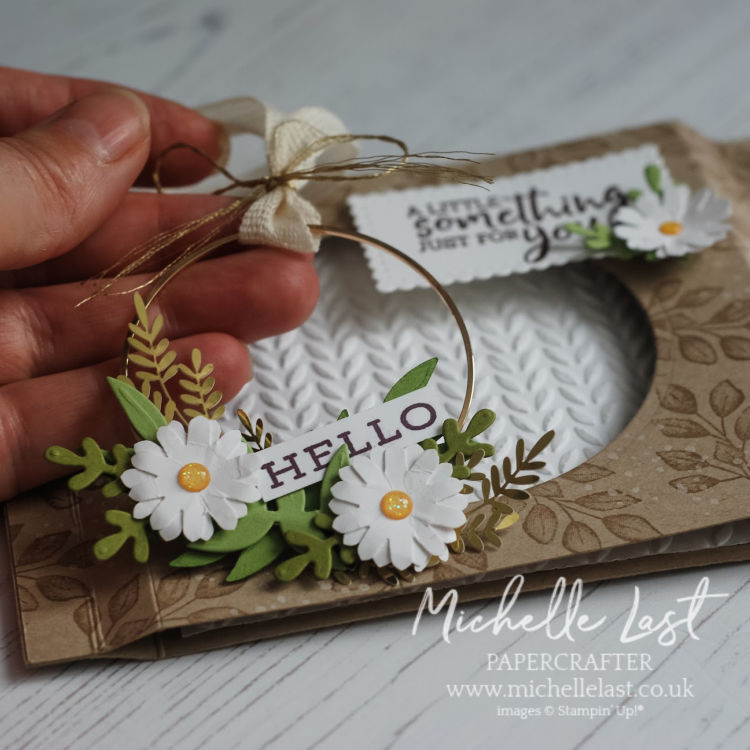 Diorama style handmade card