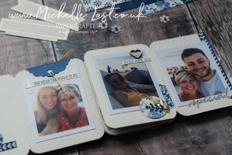 Concertina Album using stampin up products