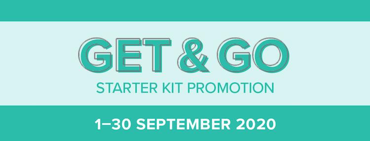 Starter kit promotion