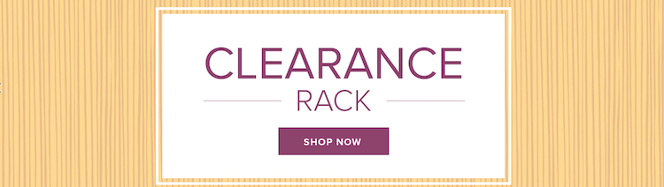 Clearance rack from Stampin' Up!