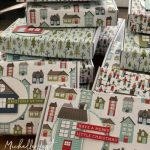 Decorated boxes with gifts inside