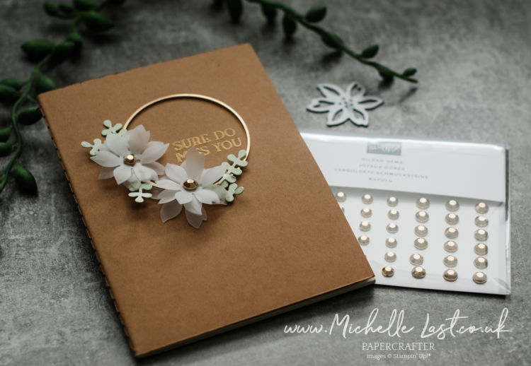 Notebook gifts handmade with Stampin Up products