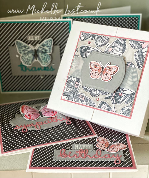 Butterfly Bouquet new bundle from Stampin Up