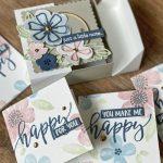 Flip top box using Pretty Perennials