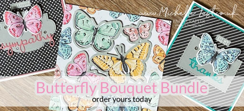 New Butterfly Products from Stampin Up