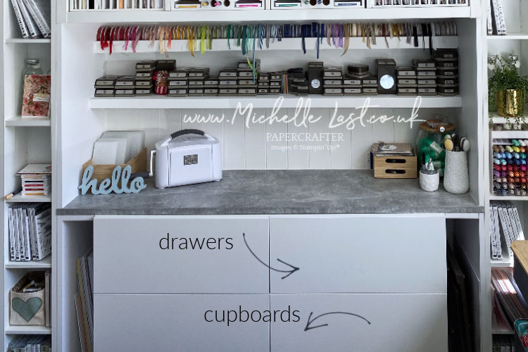 craft drawers from IKEA