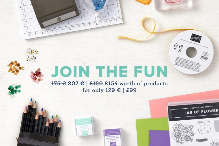 Stampin Up Starter Kit Offer