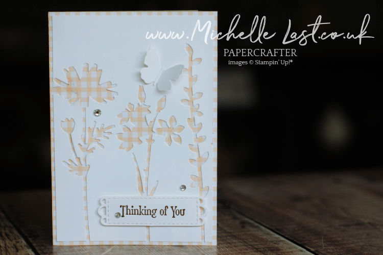 Die cut relief handmade card