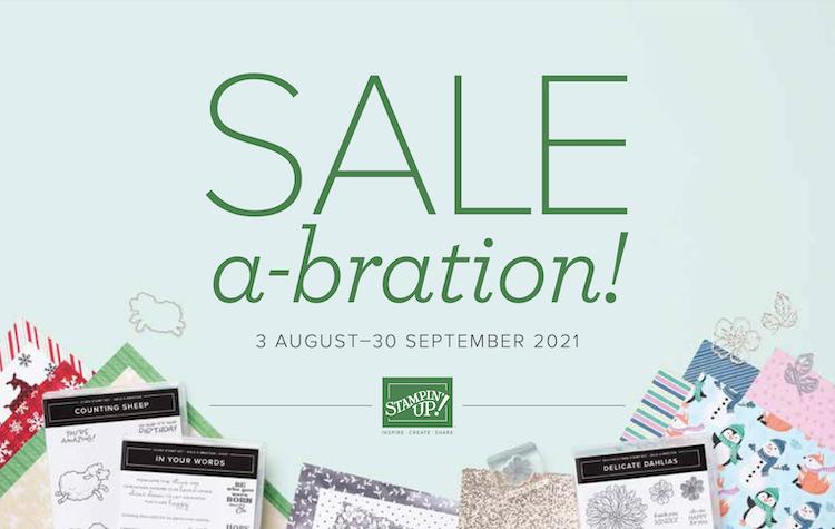 Saleabration stampin up