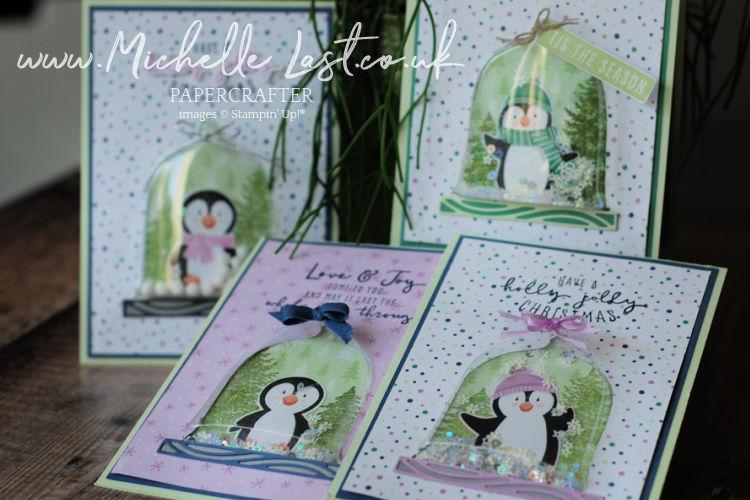 Penguin Playmates patterned paper